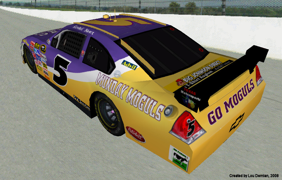 Team Chevrolet Vallejo >> Lucky Dog Racing: Cup Series Drivers - Kendall Moore